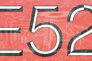 E52 logo rood